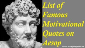 Motivational Aesop Quotes And Sayings