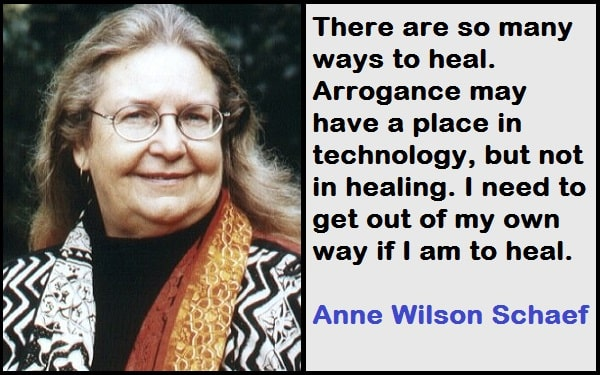 Inspirational Anne Wilson Schaef Quotes