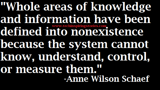 Motivational Quotes on Anne Wilson Schaef