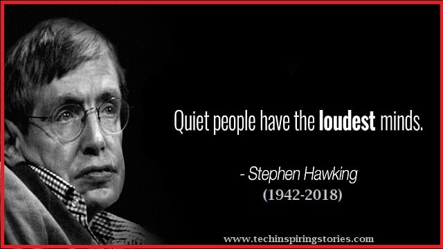 Inspirational Quotes By Stephen Hawking