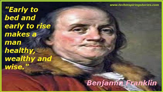 Motivational Quotes on Benjamin Franklin