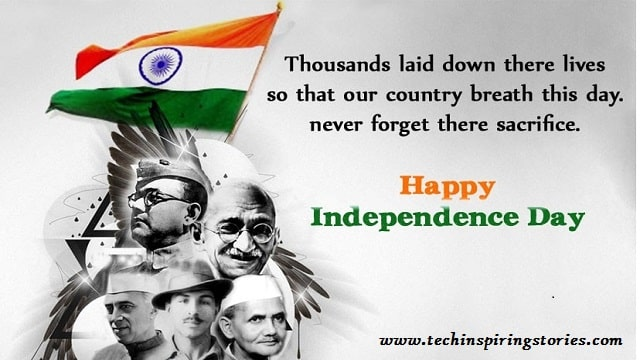 Motivational Independence Day Quotes