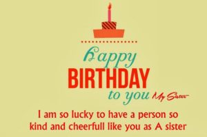 Motivational Happy Birthday Sister Quotes