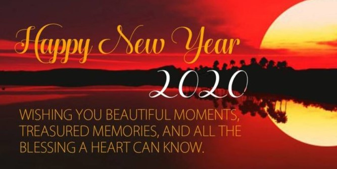 20+ New Year Wishes and Messages for 2020