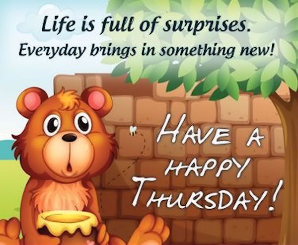 Happy Thursday 1