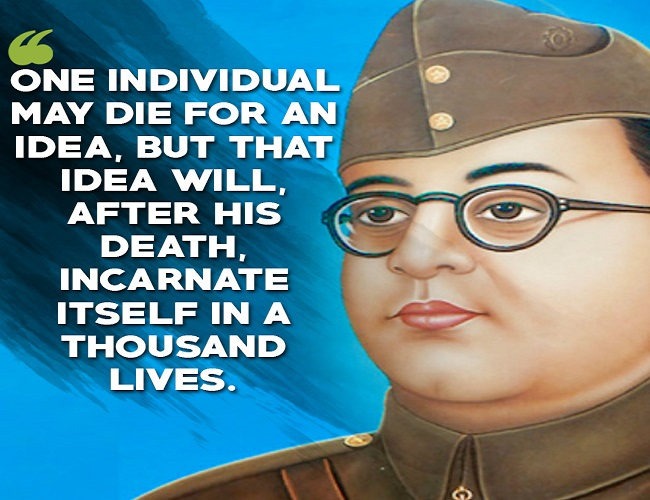 Subhash Chandra Bose1