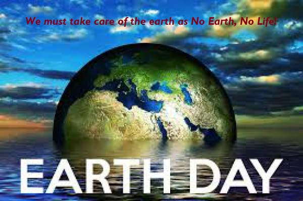WORLD EARTH DAY 1