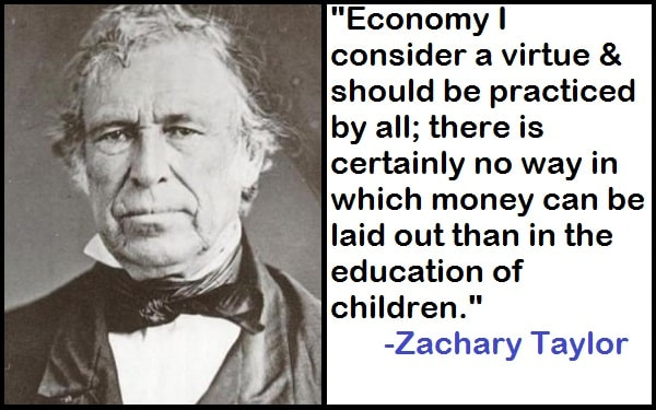 Inspirational Zachary Taylor Quotes