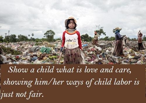 Child Labour Slogans
