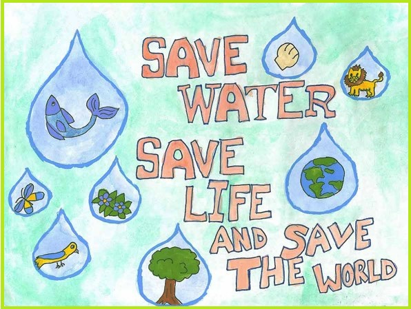 Conserve Water, Conserve Life.