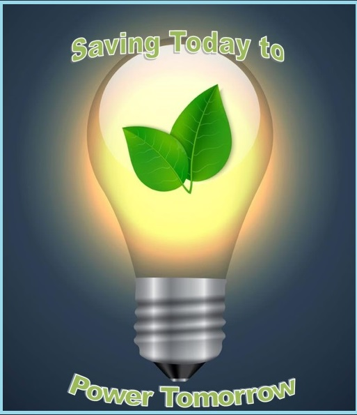 Conserve energy to preserve natural resources