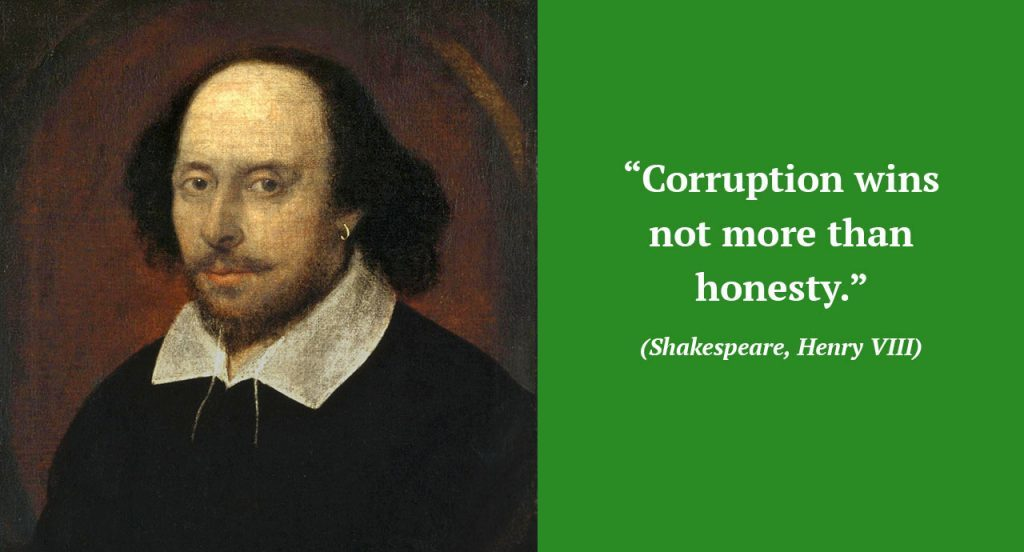 SLOGANS ON CORRUPTION 5