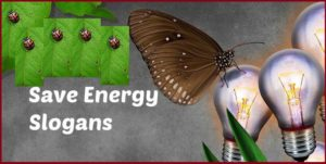 FAMOUS SLOGANS ON SAVE ENERGY