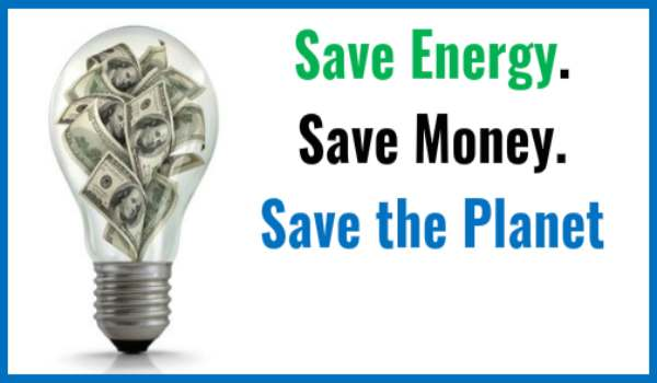 Save energy live green.