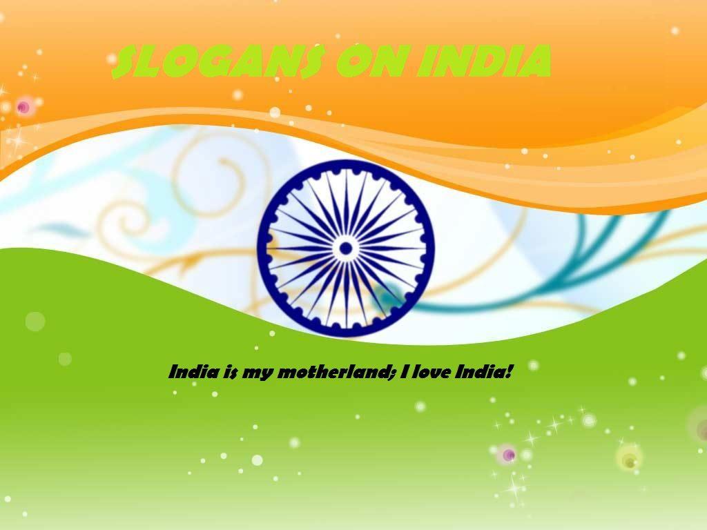 Slogan On India 1
