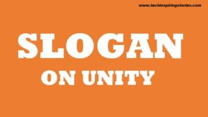 Slogans on Unity in English for Students
