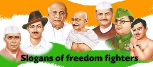 FAMOUS SLOGANS ON FREEDOM FIGHTERS