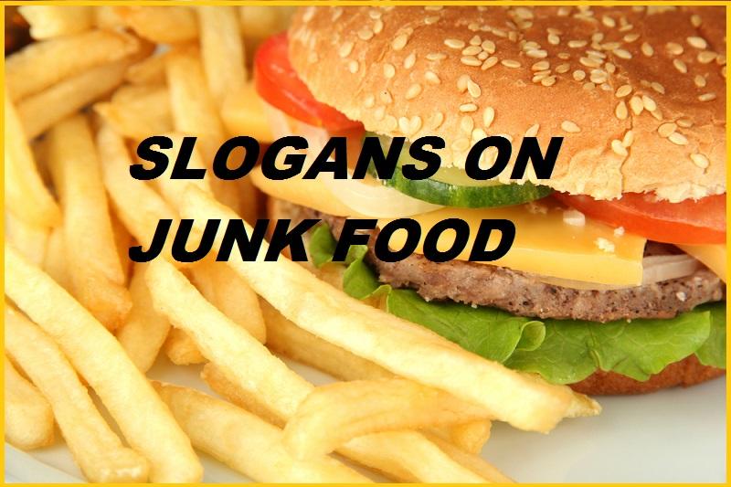 FAMOUS SLOGANS ON JUNK FOOD