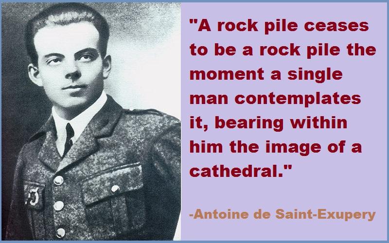 Antoine de Saint-Exupery Quotes