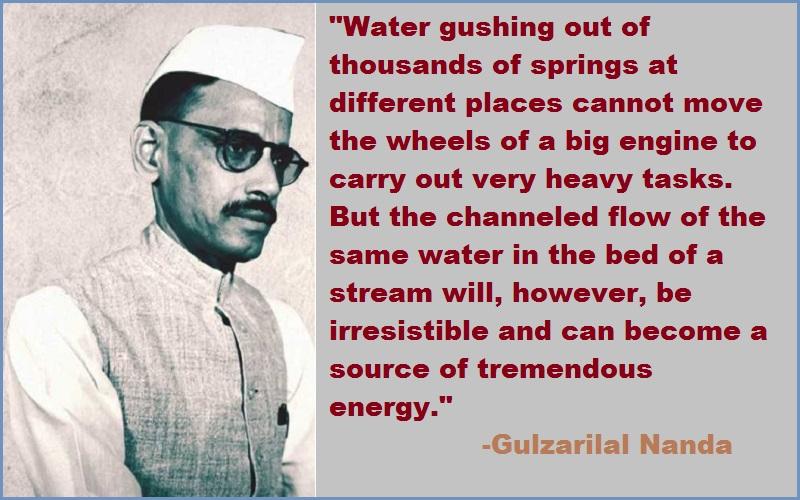 Gulzarilal Nanda Quotes