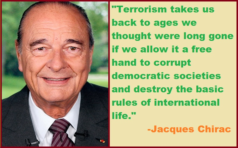 Jacques Chirac Quotes