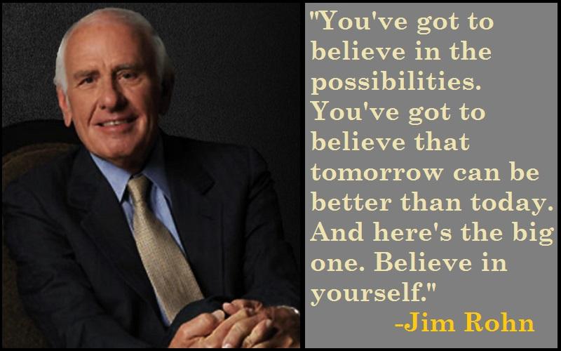 Jim Rohn Tomorrow Quotes