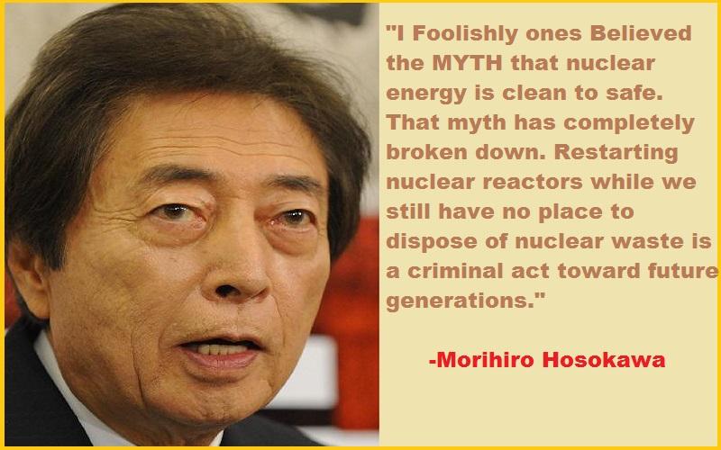Morihiro Hosokawa quote