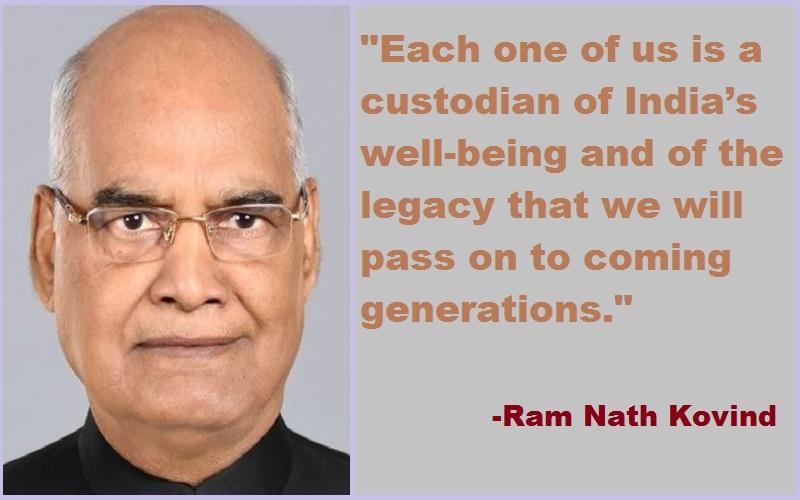 Ram Nath Kovind Quotes