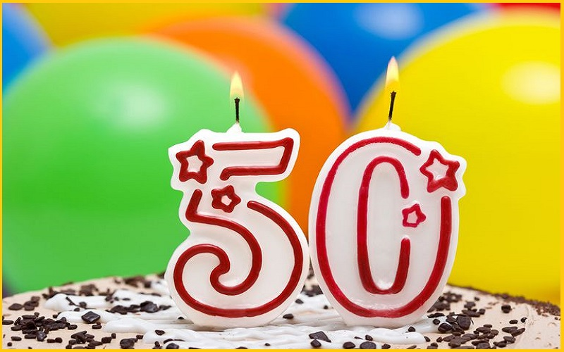 Прикольные картинки на день рождение 50 лет, спорт