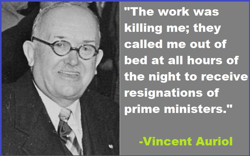 Vincent Auriol quotes