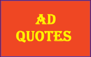 Motivational AD Quotes & Sayings