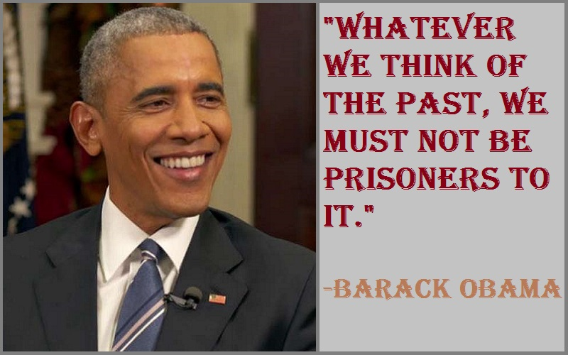 Barack Obama The Past Quotes