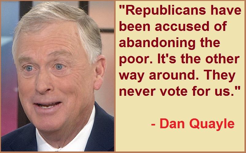 Dan Quayle Abandoning Quotes