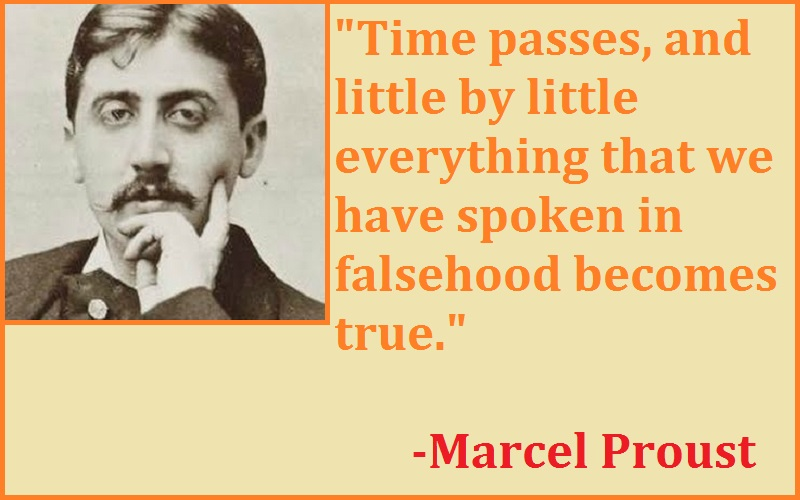 Marcel Proust Time Passing