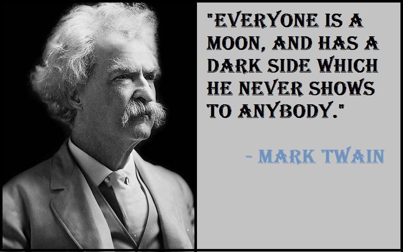 Mark Twain The Moon Quotes