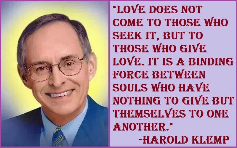 Harold Klemp Love Quotes