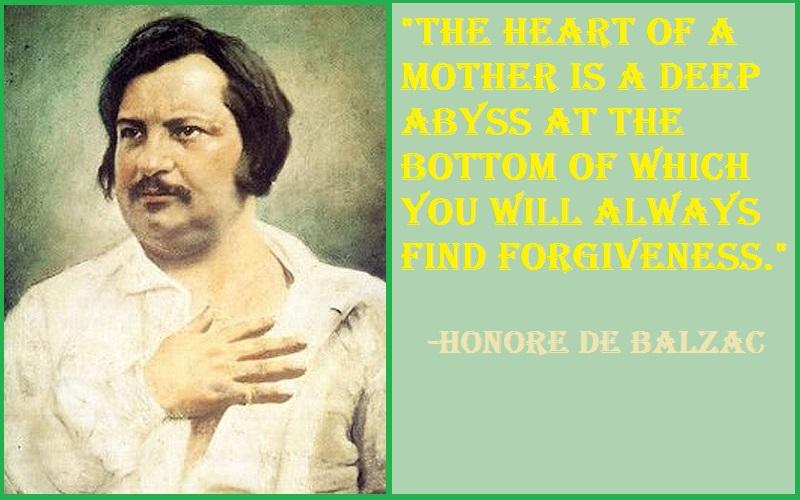 Honore de Balzac The heart Quotes