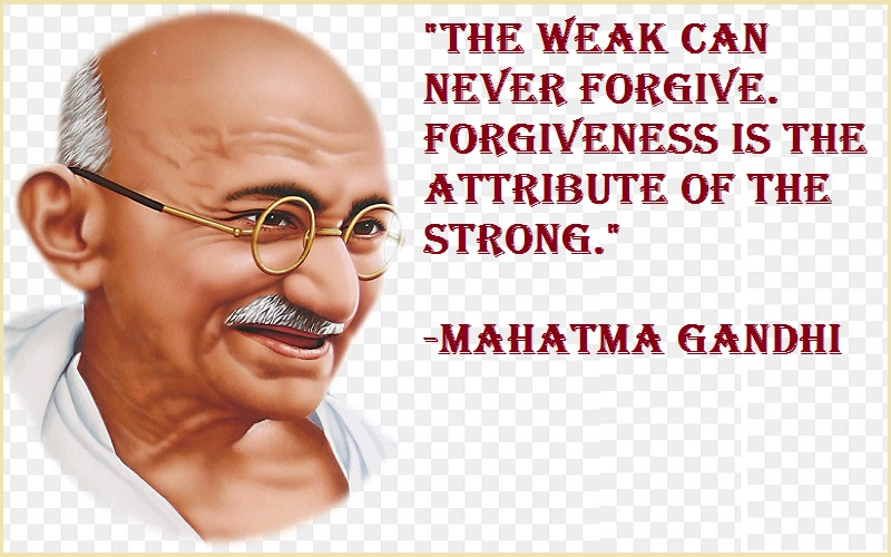 Being Strong Quotes Mahatma Gandhi Quotes