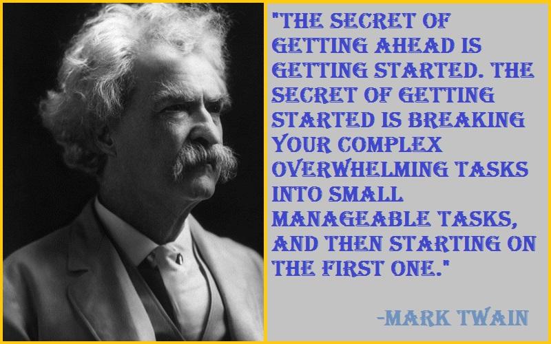 Mark Twain Team Building Quotes