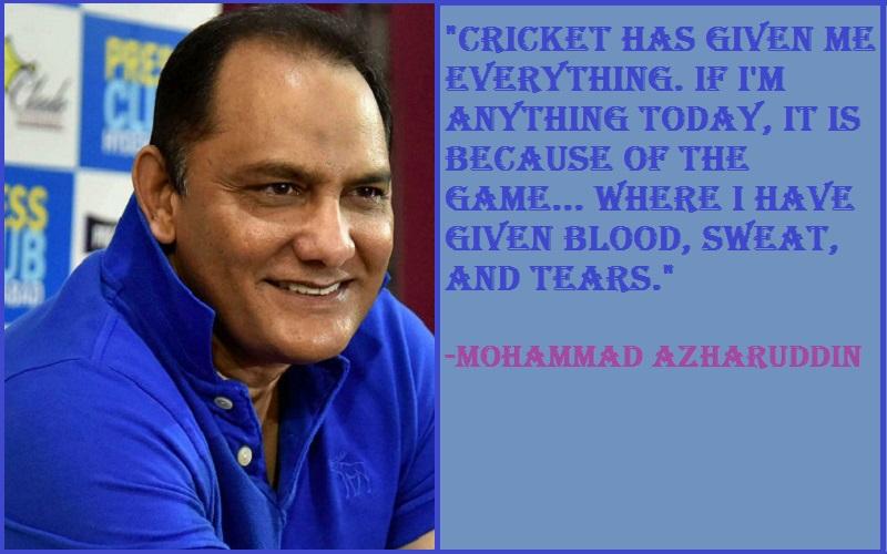 Inspirational Mohammad Azharuddin Quotes