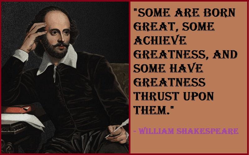 Inspirational William Shakespeare Quotes