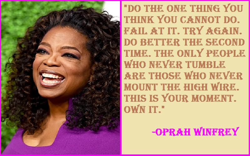 Inspirational Quotes by Oprah Winfrey