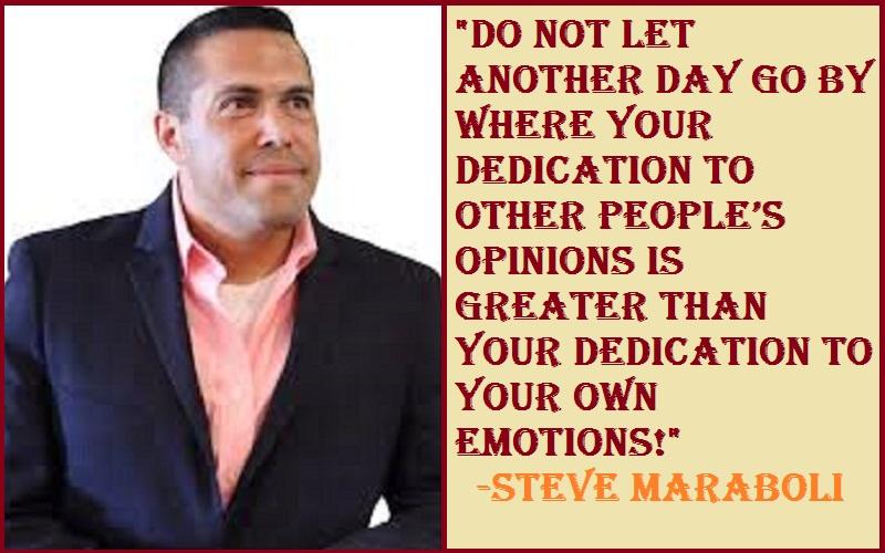 Inspirational Steve Maraboli Quotes