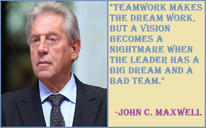 John C. Maxwell Teamwork Quotes