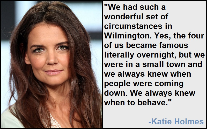 Inspirational Katie Holmes Quotes