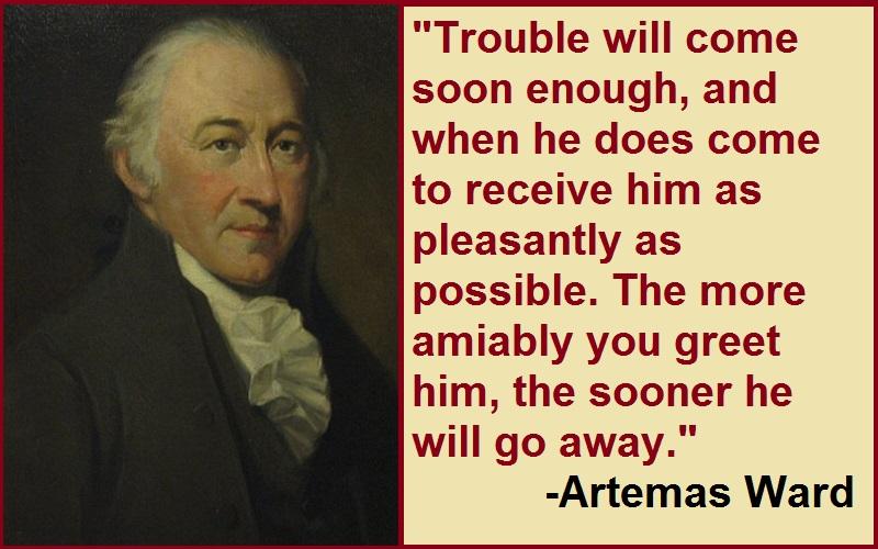 Inspirational Artemas Ward Quotes