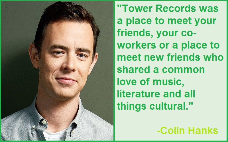Inspirational Colin Hanks Quotes