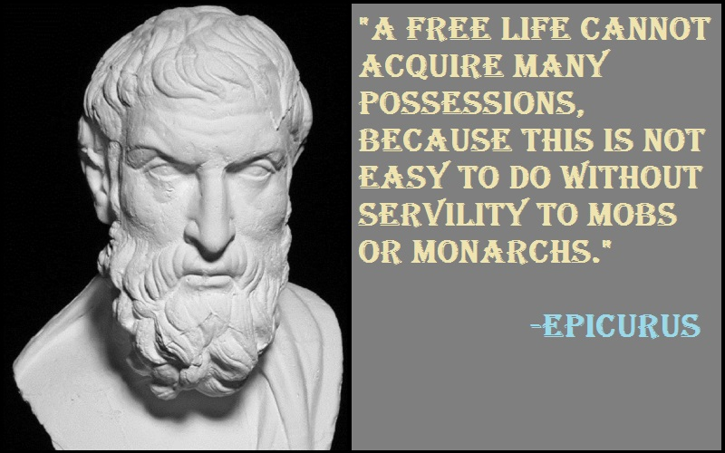 Inspirational Epicurus Quotes And Sayings