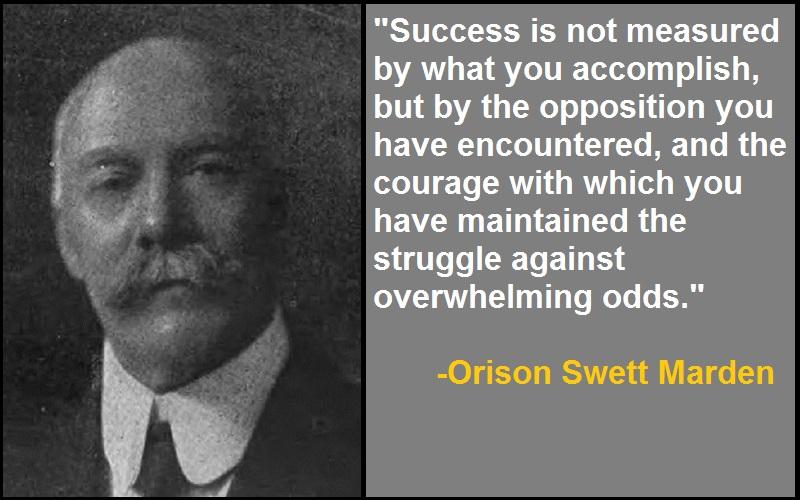 Inspirational Orison Swett Marden Quotes
