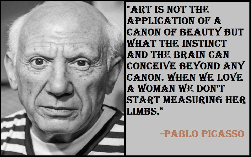 Inspirational Quotes On Pablo Picasso